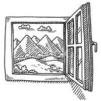43644894-open-window-mountain-landscape-drawing